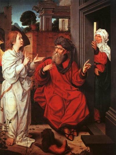 Abraham, Sara y el angel