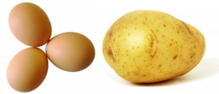 Patatas y huevos, buenos amigos en la dieta del deportista
