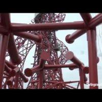Time lapse de la construcción de la torre Arcelor Mittal Orbit de Londres