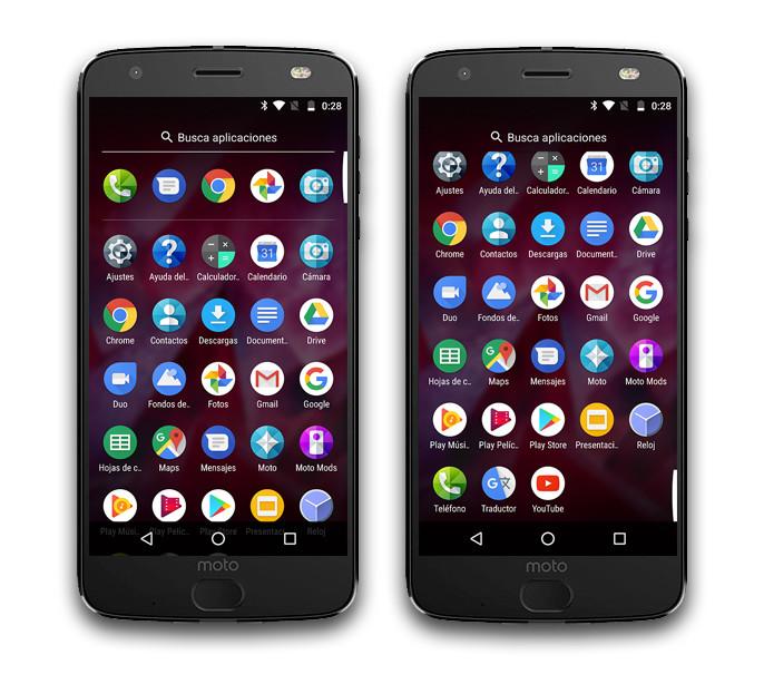 Moto Z2 Force Apps Fabrica