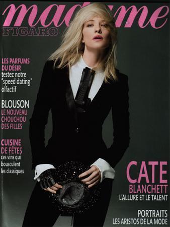 Cate Blanchett para Madame Figaró