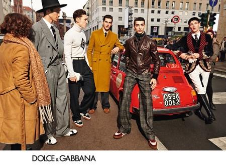 Dolce Gabbana Vuelve A Reclutar A Su Ejercito Millennial Para Su Nueva Campana De Invierno 06