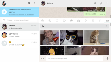 Gifs En Whatsapp Web