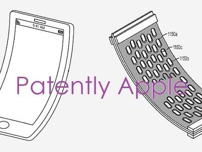 Apple patenta una estructura flexible para pantallas y soportes en sus dispositivos