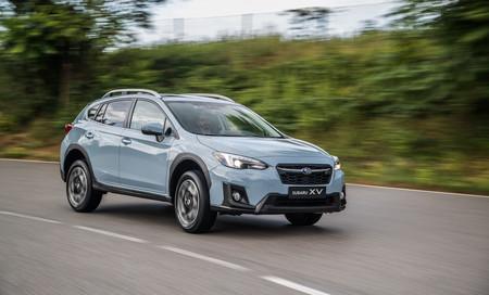 Subaru XV carretera