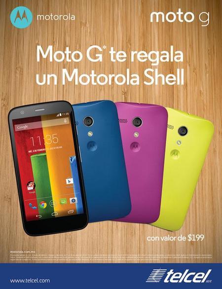 Motorola Shell gratis Día del Niño