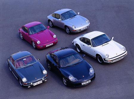 Familia Porsche 911