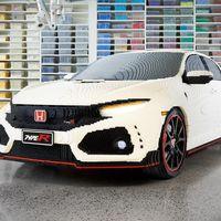 En Australia construyeron este Honda Civic Type R con 320,000 bloques Lego
