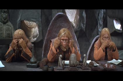 Los tres simios