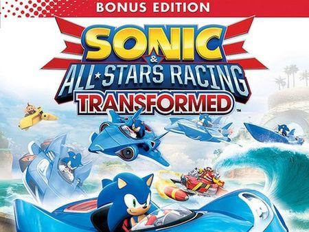 SEGA anuncia el contenido especial del 'Sonic & All-Stars Racing Transformed' en EEUU y tenemos carátula oficial