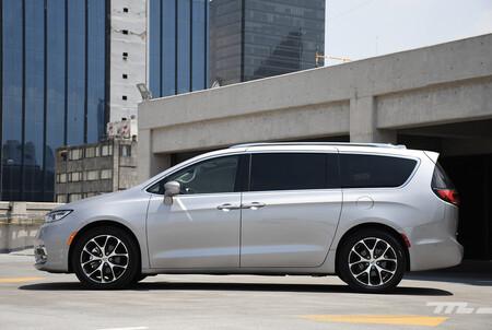 Chrysler Pacifica 2021 Opiniones Prueba Mexico 7