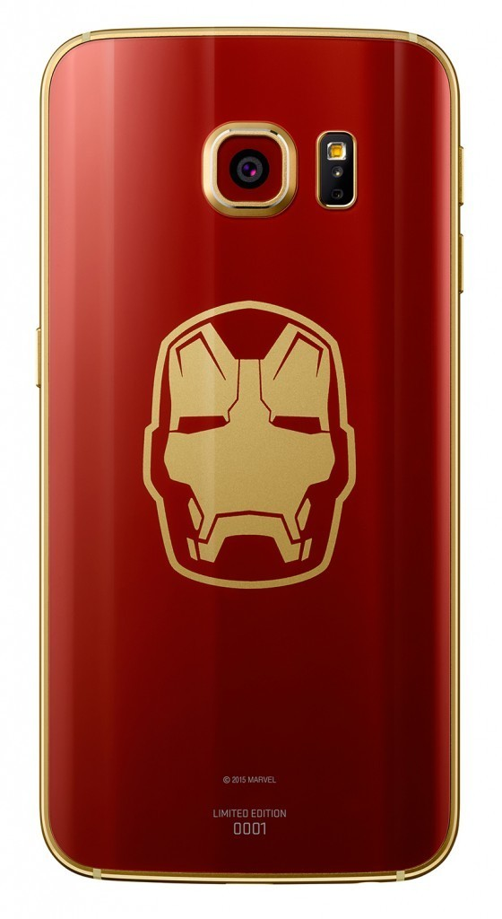 Foto de Samsung Galaxy S6 Edge Iron Man Edition (1/3)