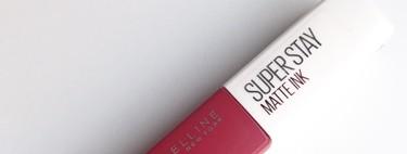Compras realmente sorprendentes y para repetir: probamos SuperStay Matte Ink de Maybelline