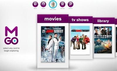 M-GO, nuevo servicio de vídeo bajo demanda con el apoyo de la industria