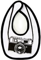 Babero para pequeños fotógrafos