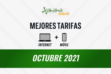 Las mejores tarifas de móvil y fibra en octubre de 2021