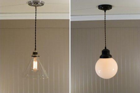 Lámparas vintage de cobre - 3