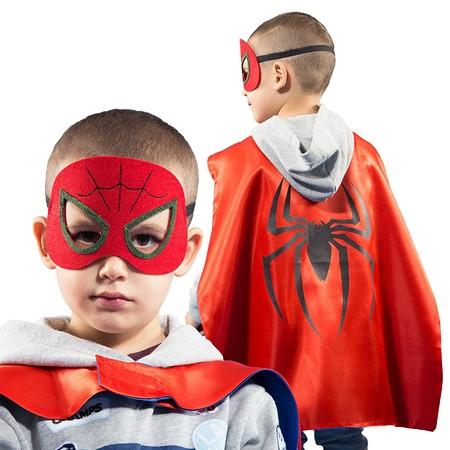 ¿Truco o trato? Set de 4 capas y máscaras de superhéroes para Halloween por 16,46 euros