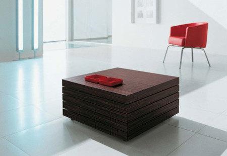 Rotor, la mesa de café perfecta para espacios pequeños
