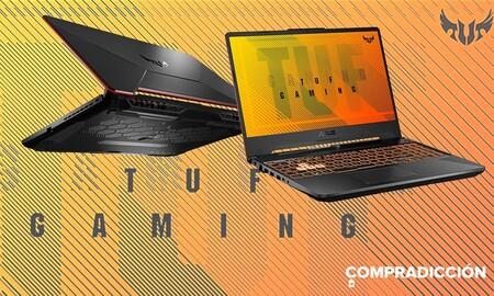Este portátil gaming con Windows de serie cuesta 200 euros menos en Amazon esta semana: ASUS TUF Gaming F15 FX506LH-HN042T por 799 euros