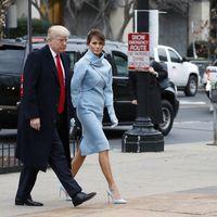 Melania Trump escoge a Ralph Lauren para convertirse oficialmente en la 45º Primera Dama de Estados Unidos