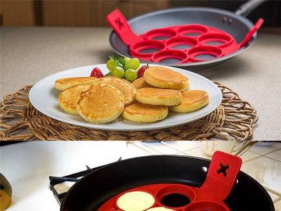 Molde para pancakes por sólo 3,75 euros y envío gratuito en Ebay