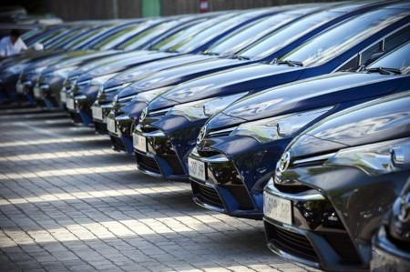 Atasco Toyota