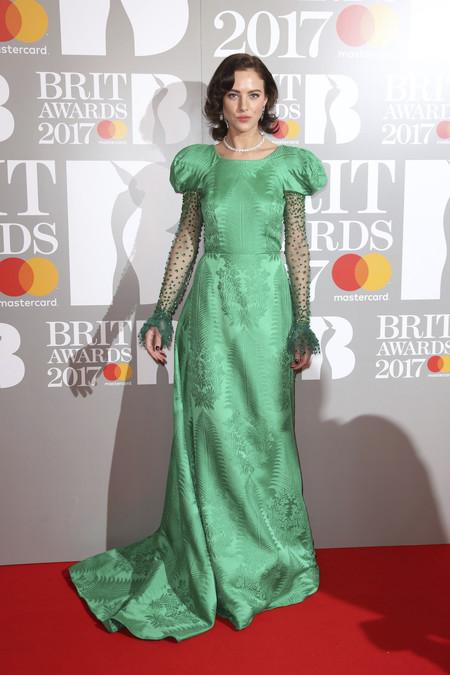 Eliza Cummings Brit Awards 2017 peor vestidas