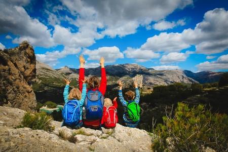 Seis actividades deportivas en la naturaleza que encantarán a tus hijos