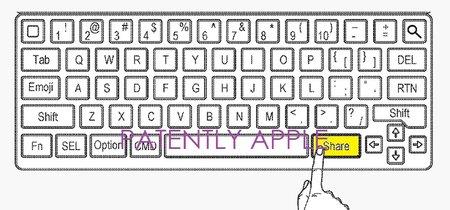 Teclas dedicadas para emojis y para compartir: Apple patenta el Smart Keyboard 2