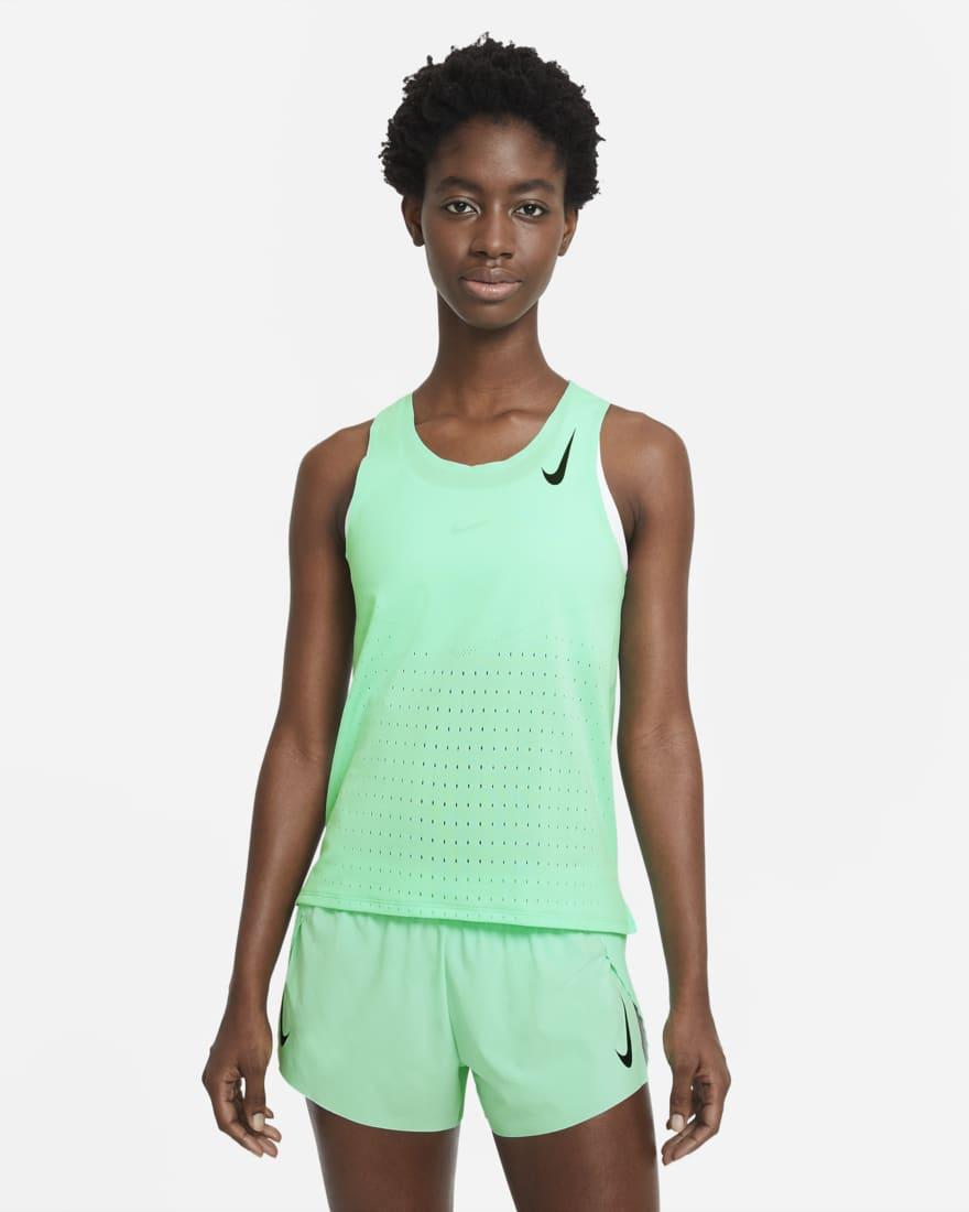Camiseta de running - Mujer - Nike AeroSwift