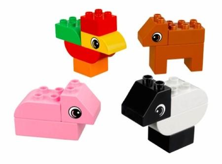 diversion en la granja LEGO