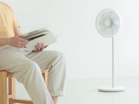 Combate el calor con este ventilador conectado inalámbrico de Xiaomi que puedes manejar desde el móvil, de oferta en eBay a 89 euros