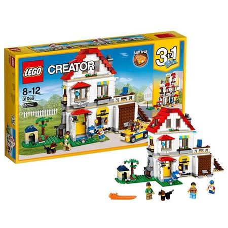 El set de Lego Creator Villa familiar modular con 728 piezas ahora sólo cuesta 48,90 euros con envío gratis en Amazon