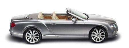 Bentley Continental GTC, otra novedad para el Salón de Fráncfort