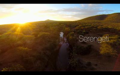 [Vídeo] Recorriendo el Serengeti con el BeetleCopter