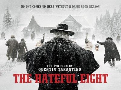 'Los odiosos ocho' de Tarantino: póster final, canciones, cómic y reportaje sobre los 70mm
