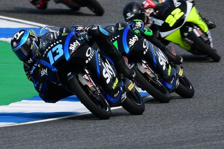 El novato Celestino Vietti consigue su primera pole position de Moto3 en Tailandia