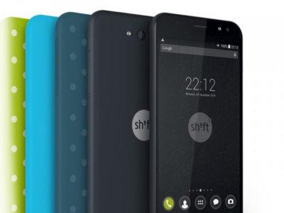 Shift5+ es un teléfono modular que te deja elegir entre Windows 10 y Android