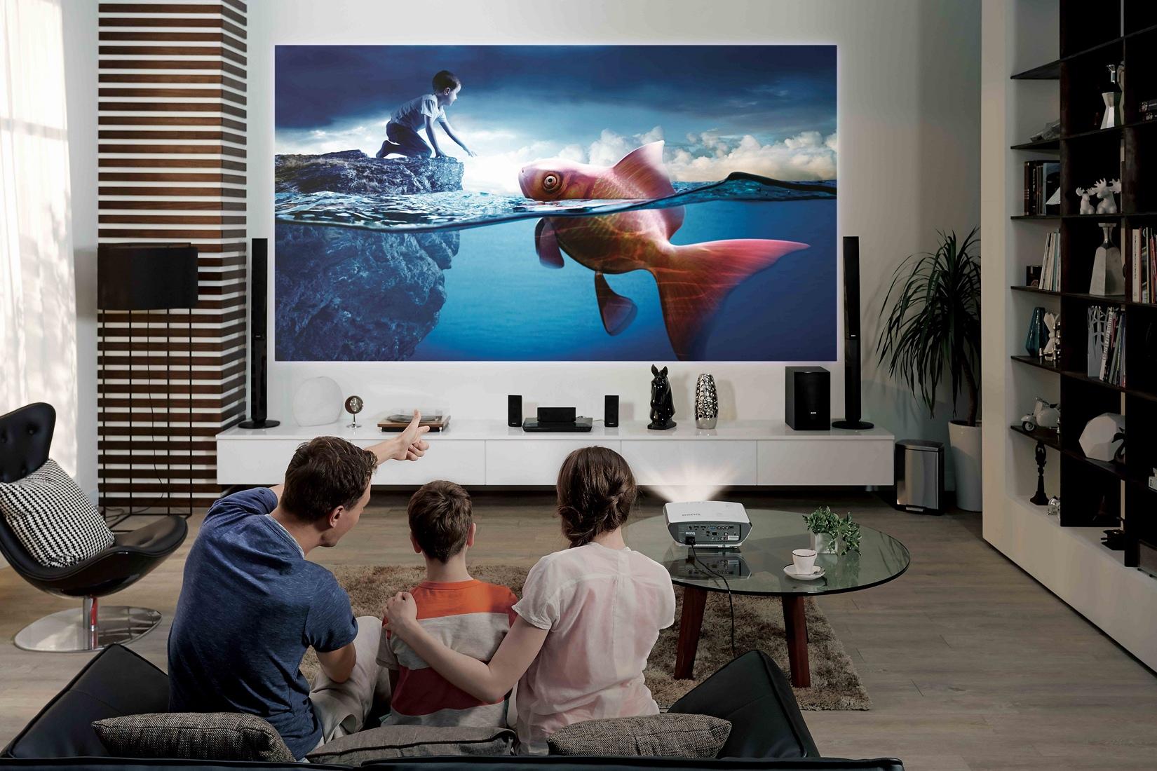 6 proyectores por menos de euros con los que montarte un aut ntico cine en casa - Proyector cine en casa ...