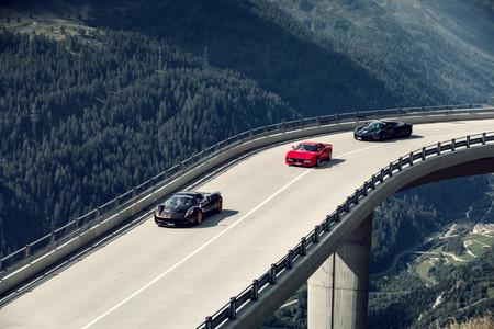 Supercar Owners Circle 2019 Pagani Huayra, Ferrari 288 GTO y LaFerrari
