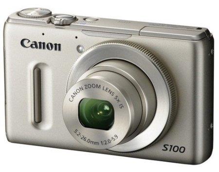 Canon Powershot S100: una compacta que no se amaina en las grandes ligas