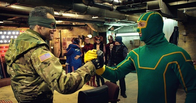 Jim Carrey en 'Kick-Ass 2: con un par'