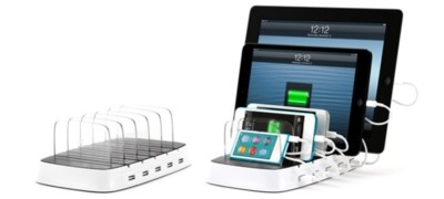 PowerDock 5 de Griffin, una base donde cargar hasta cinco dispositivos