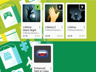 Ofertas en Google Play desde 0,10€: Enhanced SMS & Caller ID+, Lifeline, Cameringo+ y Game of Thrones