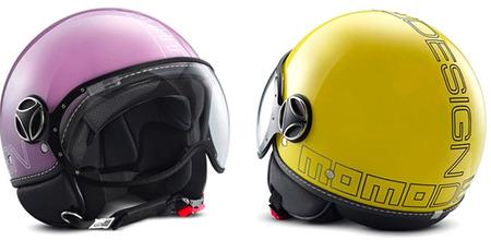Los nuevos y coloridos cascos de Momodesign