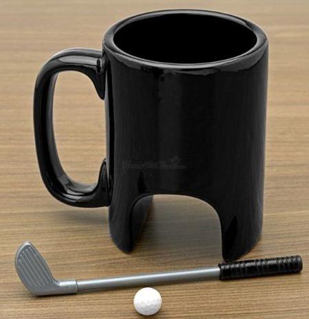 La taza ideal para un golfista