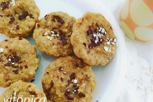 Muffins de plátano y nueces sin azúcar: receta saludable