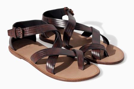 Zara sandalias hombre