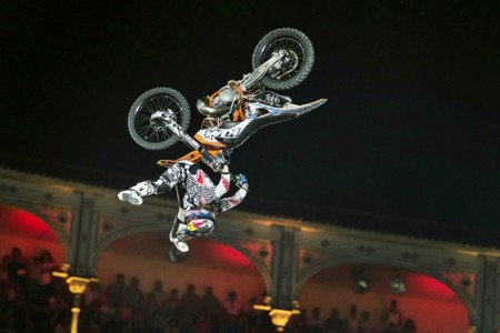 Levi Sherwood Red Bull X Fighters Madrid 2015